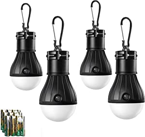 Sweepstakes: HODORPOWER LED Camping Lantern 4 Pack Tent…