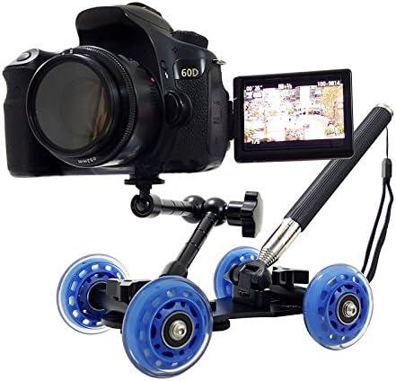 Palo selfie con ruedas y rotula tripode para camaras fotografía ...