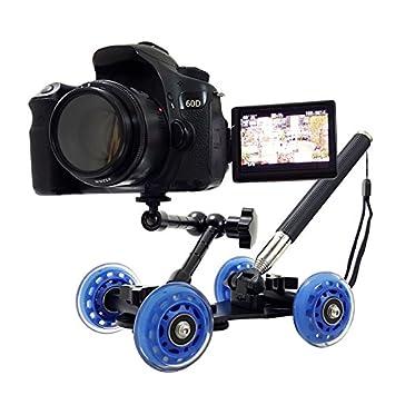 Palo selfie con ruedas y rotula tripode para camaras fotografía videos rodajes entrevistas intervius reportajes profesional cámaras réflex exito 2017 de ...