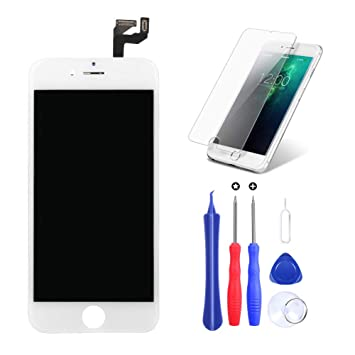 USHINING Pantalla para iPhone 6s LCD Tactil Retina Digitalizador ...