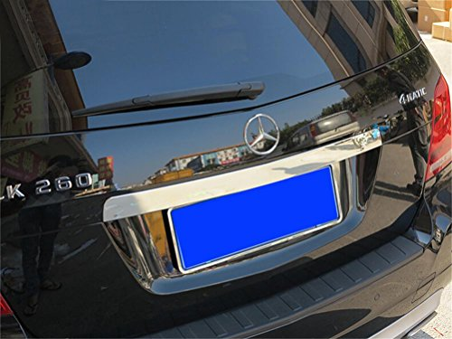 Chrome Trunk Lid Trim (Vesul Chrome Rear Trunk Lid Tailgate Door Cover Molding Trim For Mercedes-Benz X204 GLK GLK300 GLK350 2009-2015)