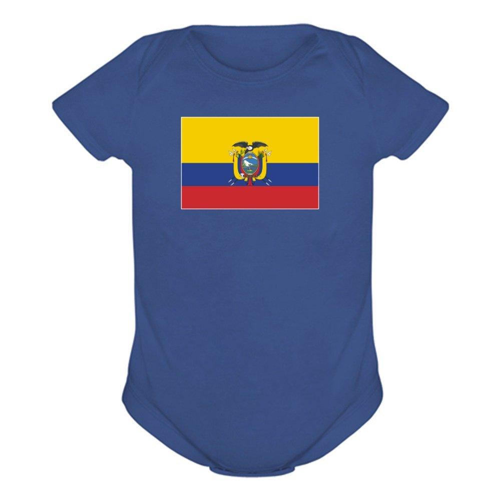Bandera de Ecuador en body Stahlblau Talla:9M: Amazon.es: Bebé