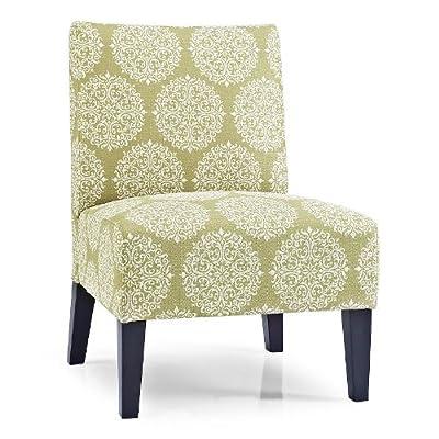 Monaco Gabrielle Slipper Chair Color: Moss