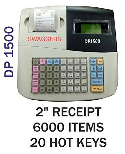 swaggers Pixel Dp 1500 Currency Register/Billing Machine/6000 Item Capacity