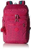 Kipling Unisex Upgrade Large Backpack With Laptop Protection Pink Summer Pop