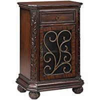 Arriana Cherry Accent Table