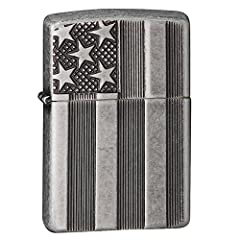 This Armor Antique Silver Plate is Deep Carved with an American flag-style design. This unique combination results in a beautiful design and an interesting texture. Comes packaged in an environmentally friendly gift box. For optimal performan...