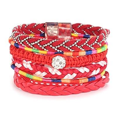 Nice Susenstone Women Bracelet,Handmade Wristband Multilayer Bracelet supplier