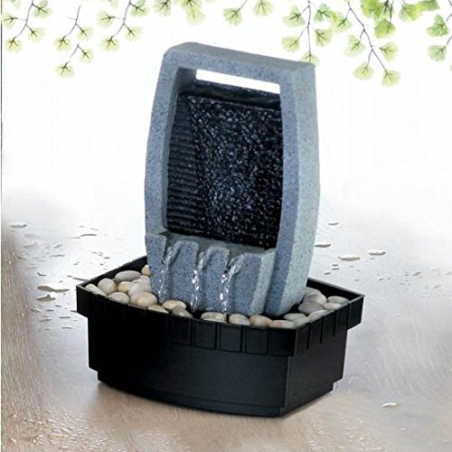 Gallery of Light Inc Water Wall Tabletop Fountain