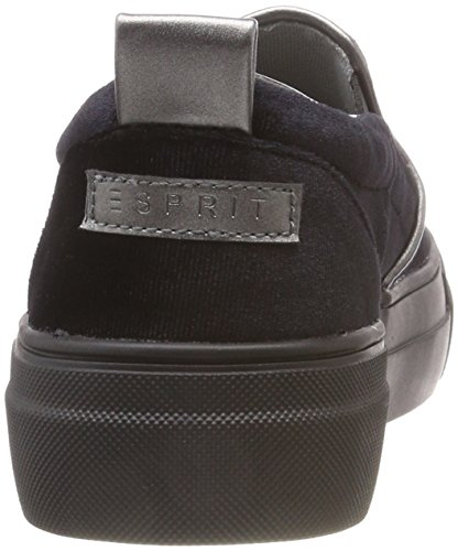 Women's Slip Dasha Velvet Black 001 Trainers ESPRIT on Black So H7wpIRdq