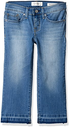 Jessica Simpson Big Girls' Cherish Crop Flare Jean, Dune/Dune, 14