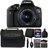 Canon EOS Rebel T6i Digital SLR Camera with 18-55mm IS STM Lens and Accessories