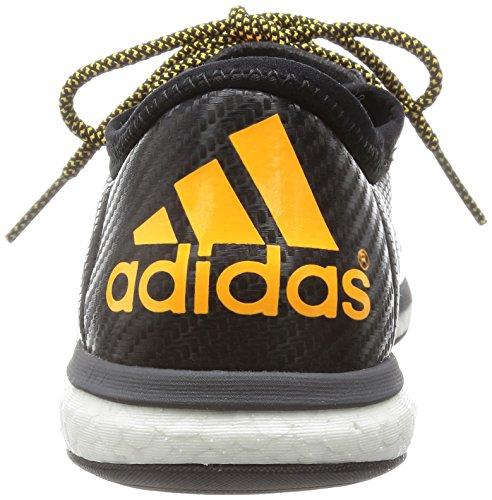 adidas X 15.1 Street, Botas de Fútbol para Hombre Negro / Amarillo (Negbas / Nocmét / Dorsol)