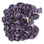 Artificial-Dried-Flowers-Nocm-144pcs-Mini-Petite-Paper-Artificial-Rose-Buds-Flowers-Diy-Craft-Wedding-Decor-Home-Flowers-Heads-Artificial-Buds-Bulk-Wedding-Bouquets-Petals-Rose-Stems