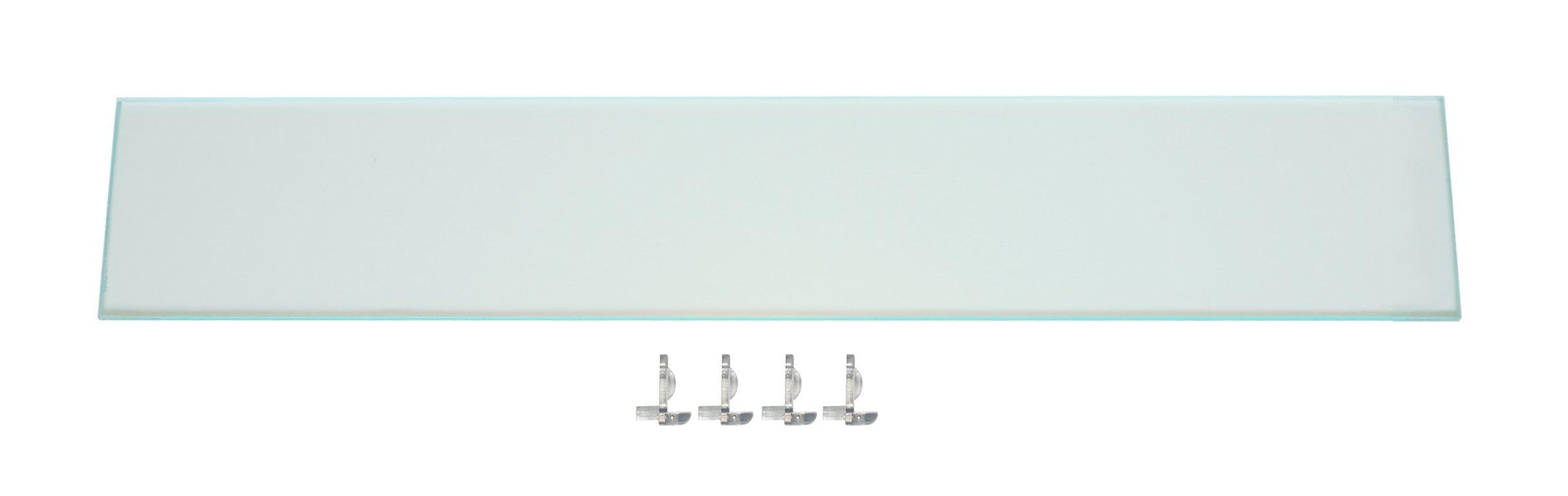 Medicine Cabinet Storage Shelf: Add Space or Replace Kohler Shelf- Complete w/Shelf Clips; Ocin Bathroom Toiletry Storage Shelf with Shatterproof Acrylic Plastic Design! (K15) by Ocin Designs