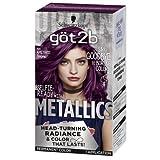 Got2b Metallic Permanent Hair Color, M69 Amethyst Chrome (Pack of 2)