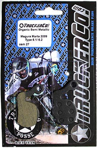 Organic Semi-Metallic brake pads Magura 6.1 6.2 Louise 2007 +, Louise Bat, Louise Carbon Julie 2009+, Julie HP, Marta 2009+, Marta SL, Marta SL Mag Magnesium Marta FR, Marta Raceline SL, Brake Force One ()