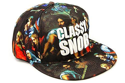 Catholic Cathedral Mural Print Hip Hop Snapback Cap Hat