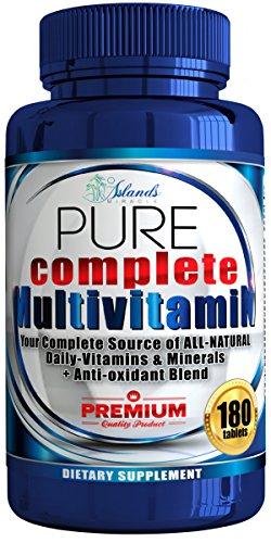 Multivitamin Antioxidant Complete Multivitamins Supplements