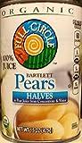 Full Circle Organic Bartlett Pears, Halves 15 Oz (Pack of 6)