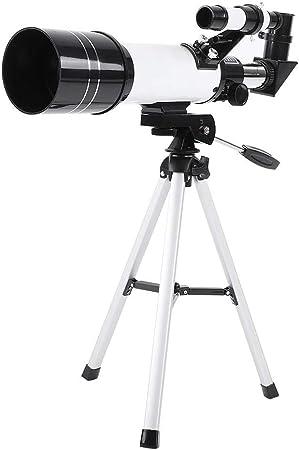 Madezz Qiilu Datyson 70400 Refractor Astronomical Telescope 1.25 Star Planet Finder Tripod