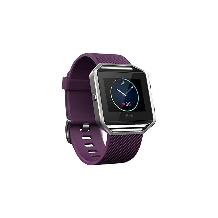 Fitbit Blaze Smart Fitness Watch, Black/Silver
