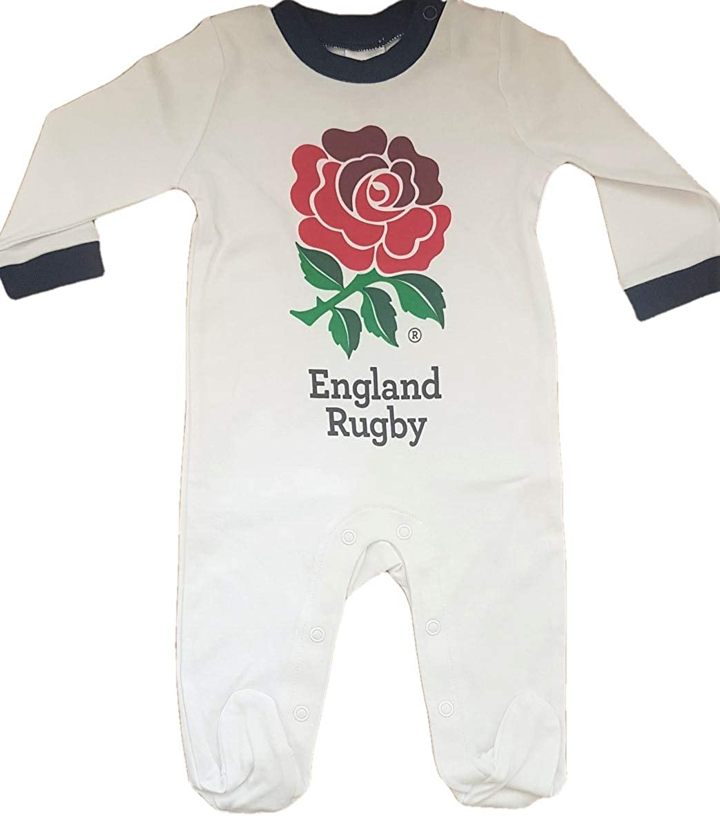England Rugby Union 2019 Rugby World Cup Infant 4 Piece Rugby Gift Set Baby Grow