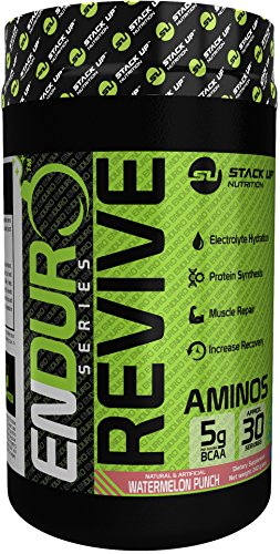 Stack Up Nutrition Enduro Revive 2:1:1 BCAA, Watermelon, 30 Servings