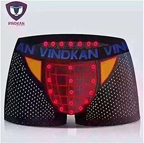 VindKan 2017 VKWEIKU Men's pennis Enlargement Underwears Magnetic Micromodal Trunks Therapy Boxer Briefs