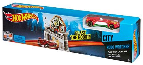 Hot Wheels Robo Wrecker Track Set Mattel CDK77