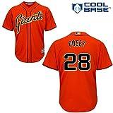 Buster Posey San Francisco Giants MLB Majestic Toddler Orange Alternate Replica Jersey (Size 3T)
