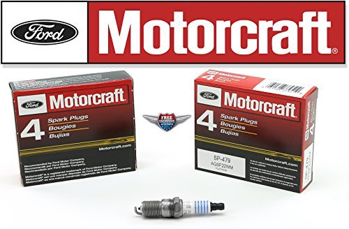 Pack of 8 Genuine Motorcraft Spark Plug SP-479 - Plug Ford
