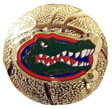 Florida Gators Sculpted Basketball Hat / Lapel Pin