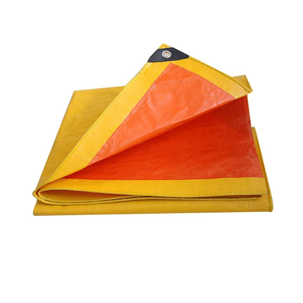 Orange Markise Sonnencreme Zelt Baldachin Geeignet für UV-Schutz Windproof Rainproof Cold Pool Garden Truck Holz Zeltabdeckung Tarps (größe   4mx5m)