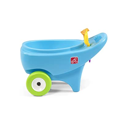 Step2 Springtime Wheelbarrow | Toddler Role Play Garden Toy, Blue (400600): Toys & Games