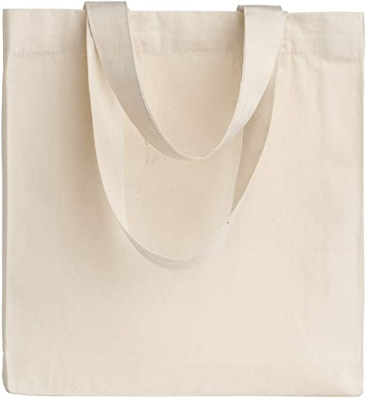 POLHIM-Bolsa Tela 100% Algodón Biodegradable,Lavable,Reutilizable ...