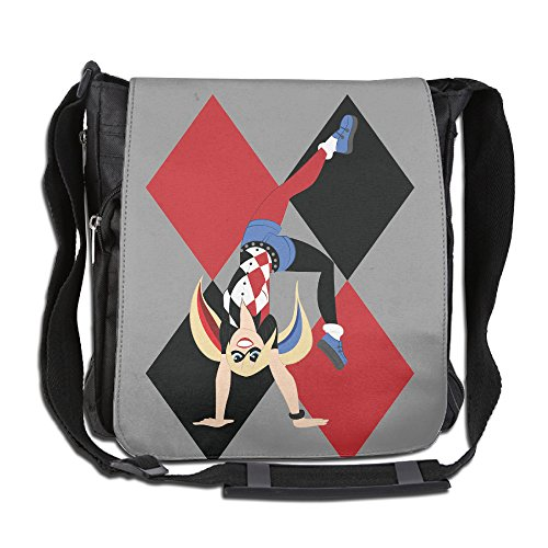 CMCGH Harley Quinn Poster Messenger Bag Traveling Briefcase - Poison Ivy Messenger Bag