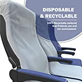 Airplane Seat Covers Disposable (2 Pack) Airplane