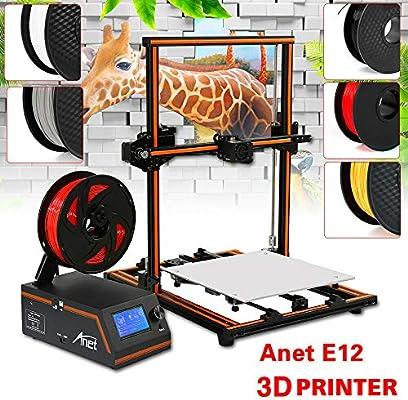 OUKANING Anet E12 - Impresora 3D de aluminio, 30 x 30 x 40 cm ...