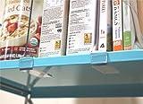 SimbaLux Acrylic Shelf Divider Clear Closet