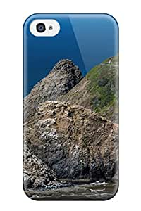 5465380K91718025 Hot Fashion Design Case Cover For Iphone 4/4s Protective Case (seascape)