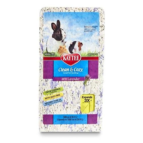 Kaytee Clean & Cozy Lavender Bedding, 500 Cubic Inch from Kaytee