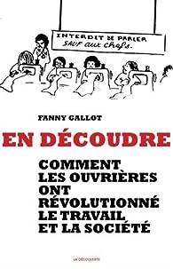En découdre par Fanny Gallot