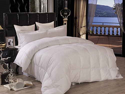 Luxury Hotel Down Alternative Comforter Duvet Insert - Thick, Hypoallergenic with Premium Ultrasoft Fill - Queen/Full Size - by Pure Element (Hypoallergenic Duvet Insert Queen compare prices)
