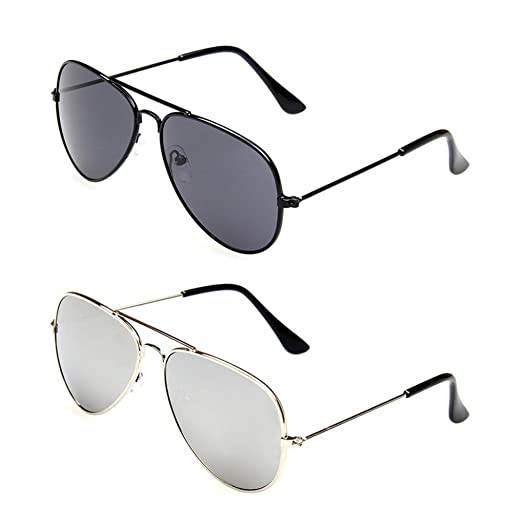 c1c4c5e46cc4 Image Unavailable. Image not available for. Color: WODISON Kids Classic  Aviator Sunglasses Metal Frame ...