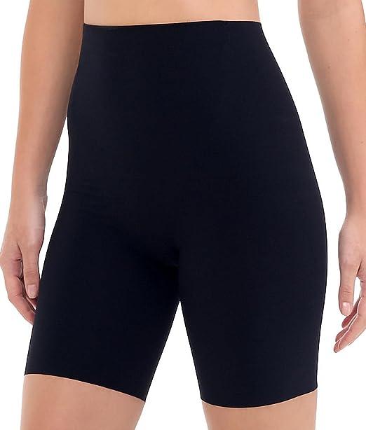 Black Commando Womens Classic Control Thong Bodysuit Small