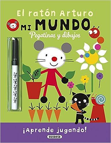 El ratón Arturo: pegatinas y dibujos: Equipo Susaeta: 9788467743739: Amazon.com: Books
