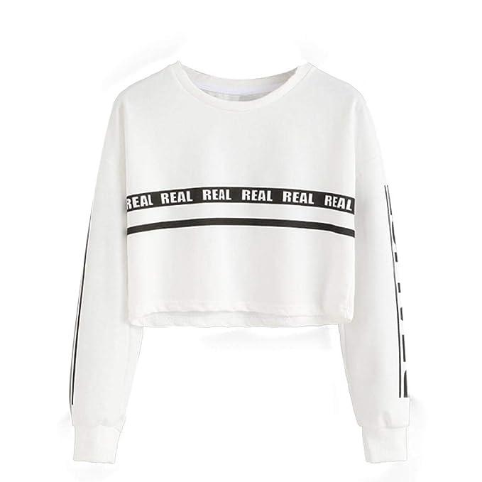 Overdose Chica De Moda Mujeres Moda Blanco Letra Imprimir Cosecha Sudadera Corta Top Sexy Blusa Dama