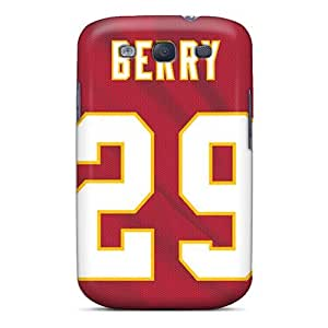 High-end Case Cover Protector For Galaxy S3(kansas City Chiefs)