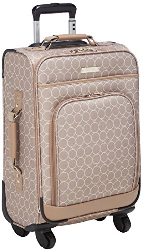 Nine West Women's Allea 20 In Expandable Spinner, Taupe